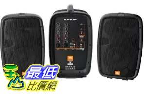 [COSCO代購 如果沒搶到鄭重道歉] JBL 行動音響 PA 喇叭組 EON-206P (附喇叭架) _W107886