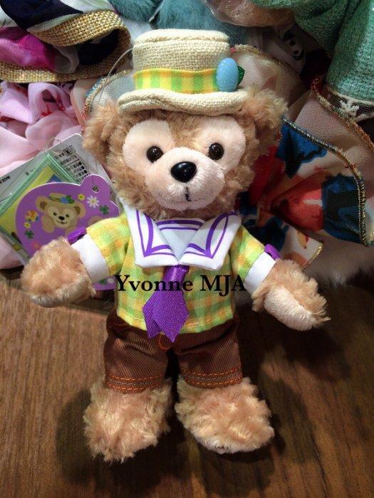 *Yvonne MJA日本代購*日本迪士尼海洋樂園限定正品Duffy達非絕版夏日春巡站姿吊飾