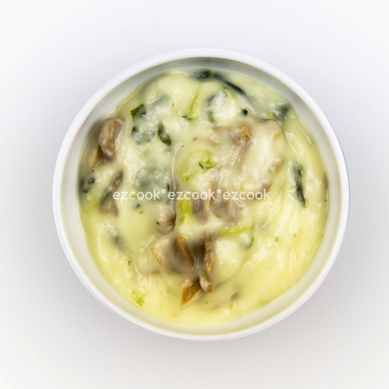 素蘑菇菠菜奶油白醬(可奶蛋素)(240g)