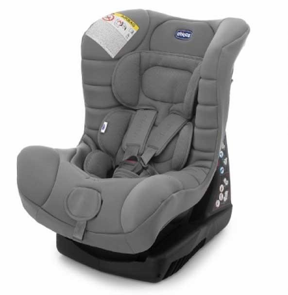 【淘氣寶寶】2015年義大利原裝Chicco ELETTA全歲段汽車安全座椅(灰)【贈美國製醫療香草奶嘴3顆(原價599元】】