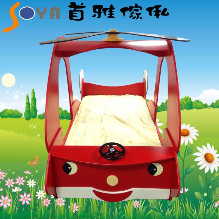 [首雅傢俬]超可愛直升機造型床(3呎)來囉!兒童床 床架 預購商品