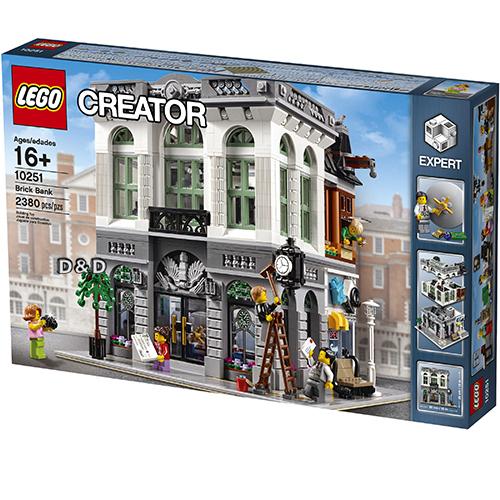 樂高積木 LEGO《 LT 10251 》CREATOR 系列 >  磚塊銀行 Brick Bank