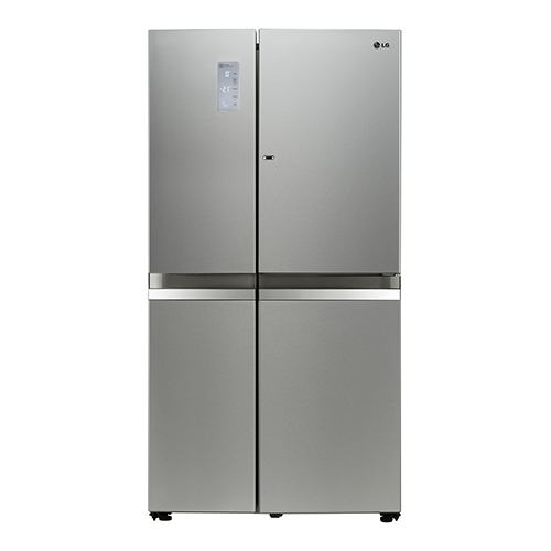 買再送好禮!LG 樂金 825L門中門魔術空間對開冰箱-精緻銀【GR-DB78N】【小蔡電器】