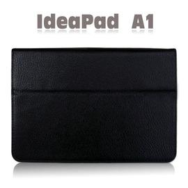 【斜立、翻頁式】聯想 Lenovo IdeaPad Tablet A1 7吋 荔枝紋書本式保護套/側掀筆記本式皮套~特惠出清