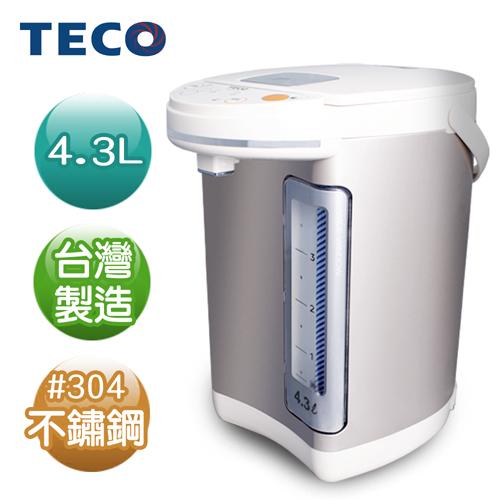 限時下殺↓ TECO東元 4.3L電熱水瓶 YD4301CB