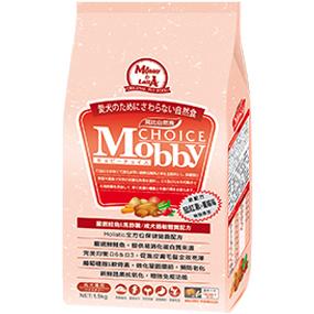 *Mi Gu*莫比Mobby《鮭魚+馬鈴薯》1.5kg無穀成犬專用配方 - 莫比寵物自然食