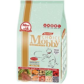 *Mi Gu*莫比Mobby《鹿肉+鮭魚》1.5kg無穀類愛貓專用配方 - 莫比寵物自然食