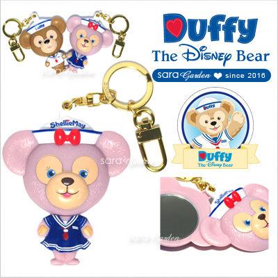 免運贈購物袋 正版 迪士尼 Disney 雪莉玫 ShellieMay 鏡子 美容鏡 化妝鏡 吊飾 掛飾 鑰匙圈 香港 水手