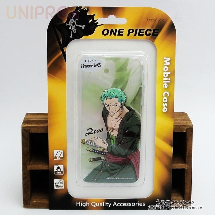 【UNIPRO】iPhone 6 6S 4.7吋 航海王 One Piece TPU 索隆 手機殼 軟殼 航海王 i6