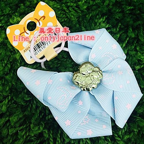 【真愛日本】16092300019造型髮束-TS金飾緞帶星星粉藍   三麗鷗家族 Kikilala 雙子星  髮飾 飾品  正品
