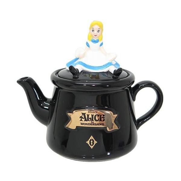 日本直送 迪士尼 Disney  愛麗絲夢遊仙境 Alice 立體造型茶壺