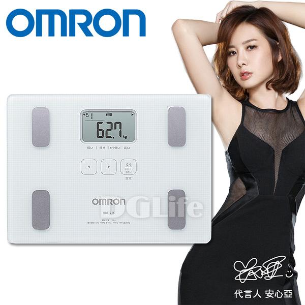 OMRON體脂計 HBF-216 白色 新品上市!限時優惠!!