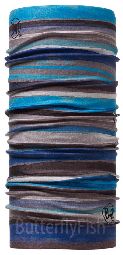 Buff Coolmax -  尼羅河藍 成人頭巾 ;BF100087;防曬透氣頭巾;Coolmax; 蝴蝶魚親子戶外用品館