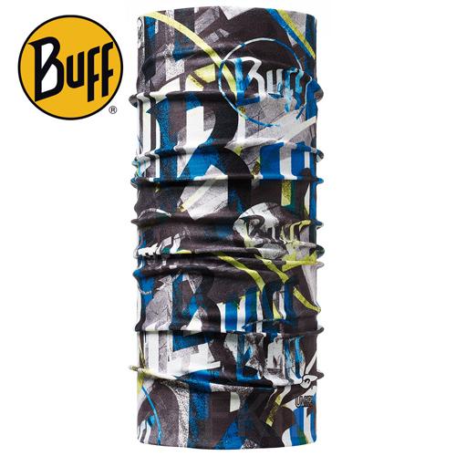 Buff Coolmax -夜光殘影 兒童頭巾, BF100185 ;防曬透氣頭巾;Coolmax; 蝴蝶魚親子戶外用品館