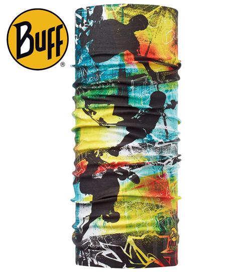 Buff Coolmax -SKATER 兒童頭巾, BF108549 ;防曬透氣頭巾;Coolmax; 蝴蝶魚親子戶外用品館