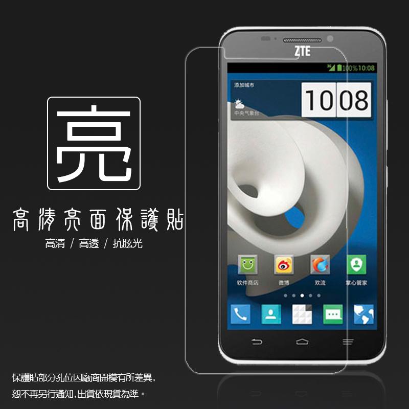 亮面螢幕保護貼 亞太 ZTE GRAND sll CW501 保護貼