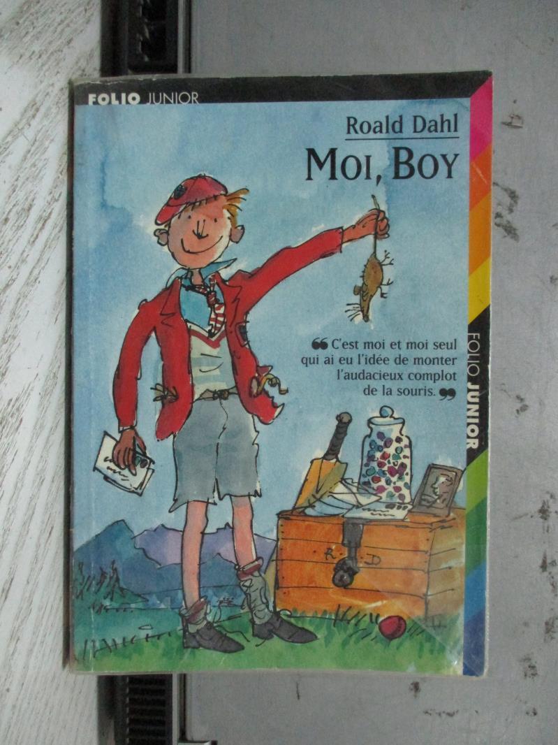 【書寶二手書T1/原文小說_NCY】Moi, Boy_Roald Dahl