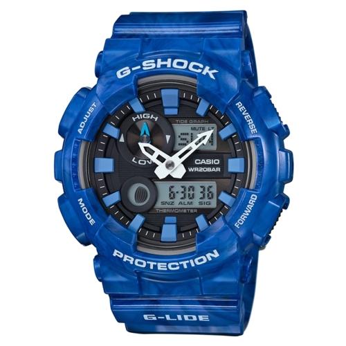 CASIO G-SHOCK衝浪潮汐運動腕錶/GAX-100MA-2A