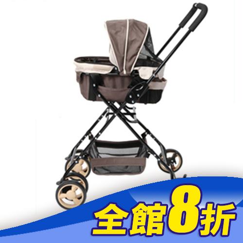 《日本GEX》汪汪物語系列狗推車-可拆提籃推車