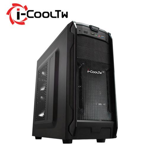 i-cooltw無極鬥士 Q6 黑色