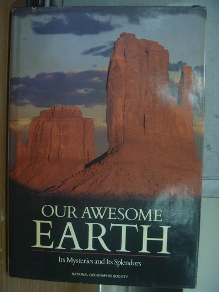 【書寶二手書T5/科學_PGO】Our awesome earth_1986