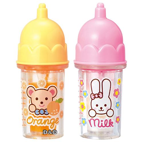 【 小美樂娃娃 】小美樂配件 - 橘子汁及牛奶瓶 2016