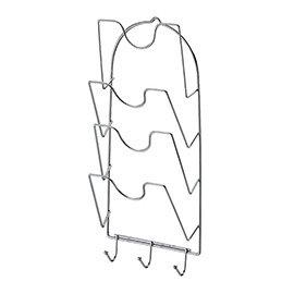 【nicegoods】愛家鍍鉻四層鍋蓋架(金屬 鐵架 置物架 廚房收納)