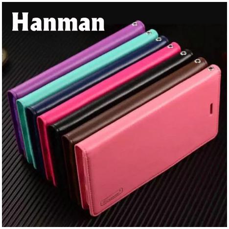 【Hanman】華碩 ASUS Zenfone 3 ZE552KL/Z012DA 5.5吋 真皮皮套/翻頁式側掀保護套/側開插卡手機套/保護殼