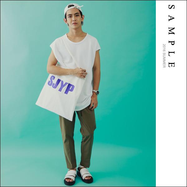 側背包 細繩背帶SJYP帆布【BG16920】- SAMPLE