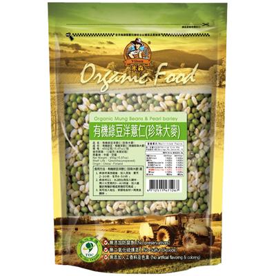 有機綠豆洋薏仁450g