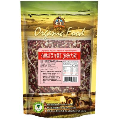 有機紅豆洋薏仁450g