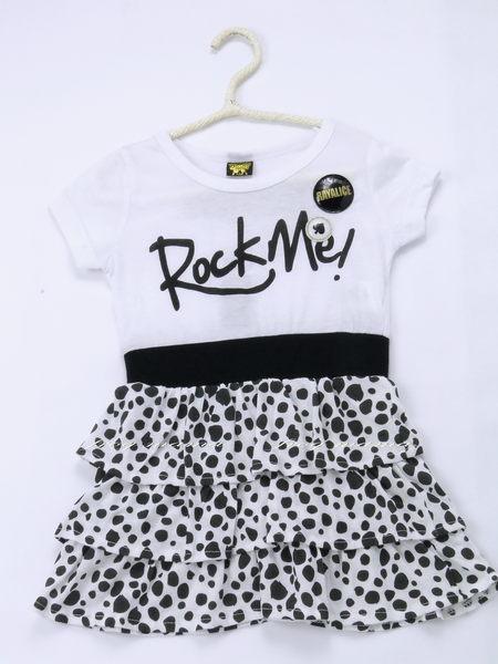 日雜款~搖滾風豹紋長版上衣、洋裝140cm(6折專區)