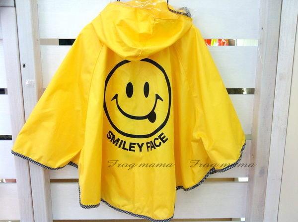 日本可愛笑臉雨披.雨衣(衣長49 cm)