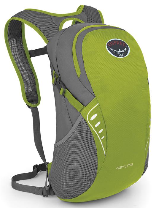 【鄉野情戶外專業】 Osprey |美國|  DAYLITE 輕便小背包/健行背包 休閒背包 旅行背包 攻頂包-活潑綠/Daylite 【容量13L】