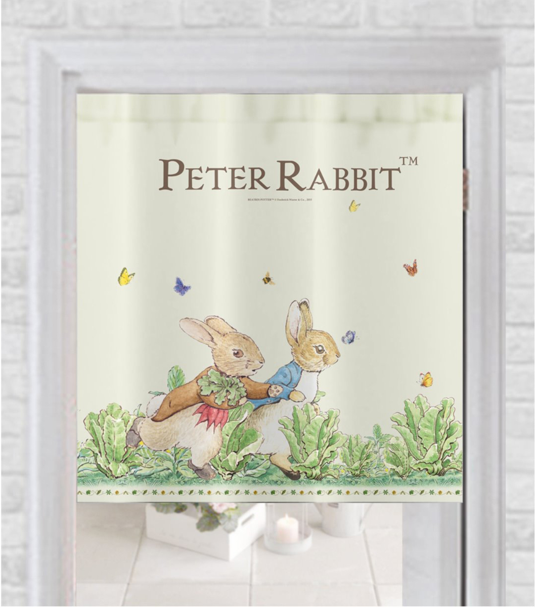 《Annie's Friends》Peter Rabbit 比得兔中門簾【跑兔】