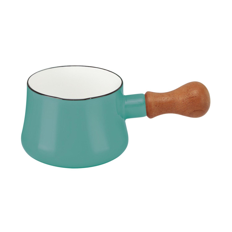 DANSK Butter Warmer 琺瑯木柄牛奶鍋 無蓋 560ml 藍綠色 *夏日微風*
