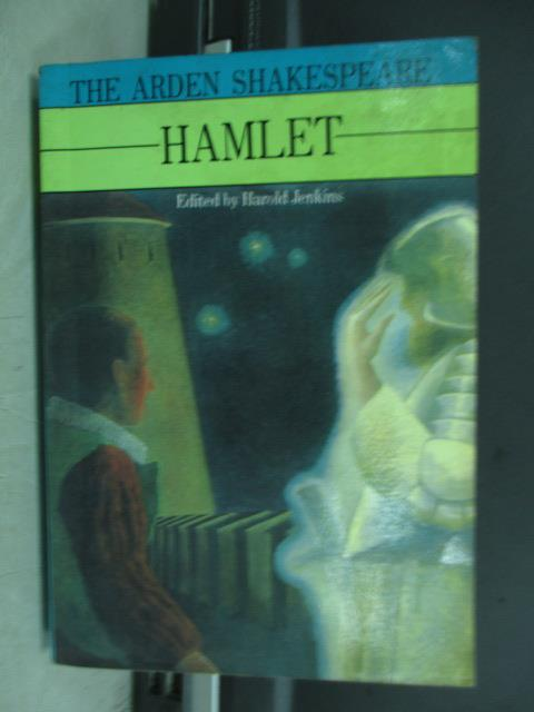 【書寶二手書T9/原文小說_MPM】The arden shakespeare hamlet_1982
