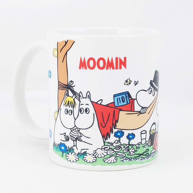 Moomin嚕嚕米授權 - 馬克杯 / 牛奶杯:【 野餐 】
