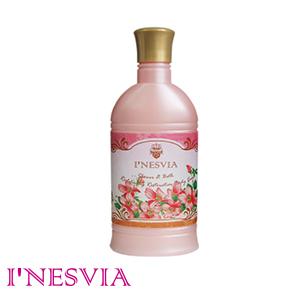 【INESVIA】粉麝香乳霜潤澤沐浴乳