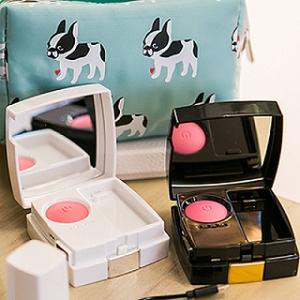 掉妝嗎? 最佳手機補妝小物 RETOUCH 粉餅外盒造型 腮紅手機行動電源4200mAh