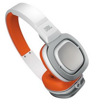 JBL J88 高品質頂級旗艦大型全罩式耳機(橘白色)