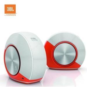 JBL PEBBLES 電腦多媒體喇叭【橘色】USB供電喇叭