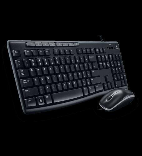 Logitech 羅技  MK200 USB 鍵盤滑鼠組 隨插即用 USB介面