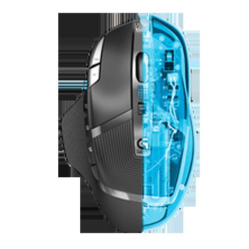 Logitech 羅技 G602 無線遊戲滑鼠 DELTA ZERO感應器技術 超持久電池壽命
