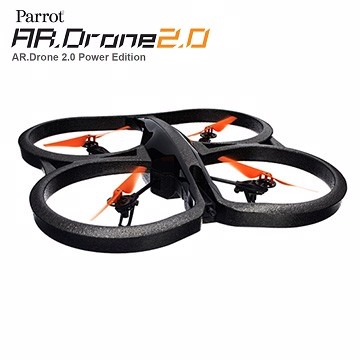 Parrot AR.Drone 2.0 Power Edition 四軸高清攝影空拍飛行器(橘色)