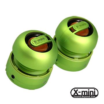 X-mini MAX 【綠】立體環繞隨身攜帶型音箱 長效鋰電 BXS重低音