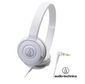 audio-technica 鐵三角 ATH-S100 街頭DJ風格可折疊式頭戴耳機【白】耳罩式