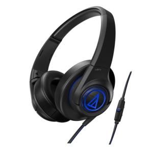 鐵三角 ATH-AX5iS 黑 頭戴式耳機 智慧型手機專用  重低音