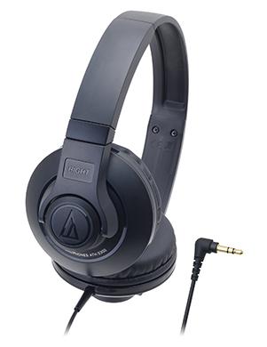 audio-technica 鐵三角 ATH-S300【黑】 街頭DJ風格可折疊式頭戴耳機 耳罩式