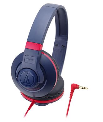 audio-technica 鐵三角 ATH-S300【深藍】 街頭DJ風格可折疊式頭戴耳機 耳罩式